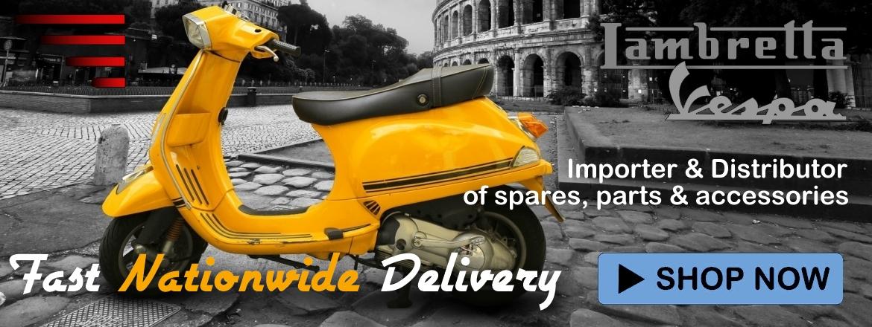 UK Scooters - Lambretta & Vespa spares, parts & accessories