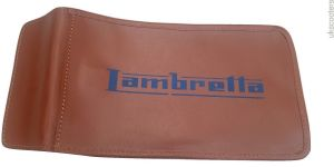 LAMBRETTA HANDY TOOLKIT BLACK ,TAN AND BROWN GENUINE LEATHER POUCH NEW