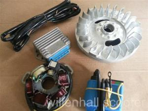 LAMBRETTA 12V ELECTRONIC IGNITION SYSTEM GP/DL SIL STATOR K2 KIT