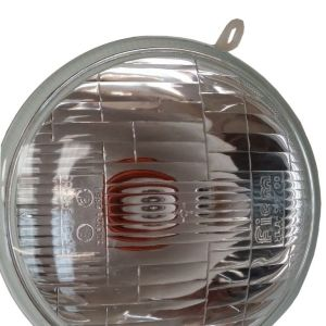 VESPA COMPLETE HEADLIGHT WITH HOLDER HALOGEN AND PARKING BULB PX/P/LML/T5 NEW