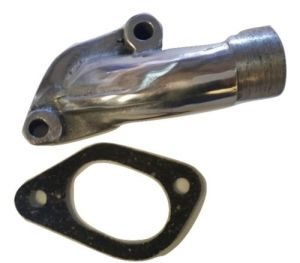 UK SCOOTERS LAMBRETTA CARB INLET MANIFOLD WITH GASKET 200CC GP NEW 22MM