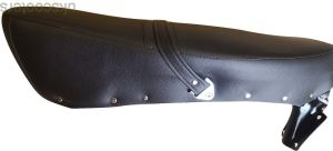 ukscooters LAMBRETTA GIULIARI TYPE DUAL SEAT WITH CATCH GP LI TV SX BLACK NEW